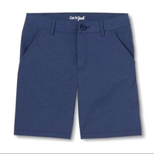 Cat & Jack flat front quick dry stretch shorts